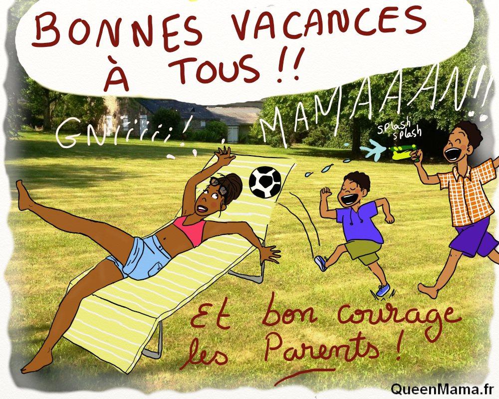 blog BD humour maman vacances