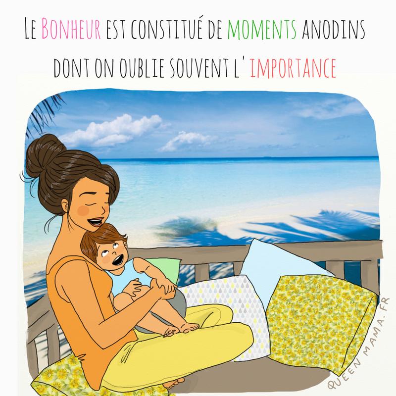 illustration citation maman parent bonheur