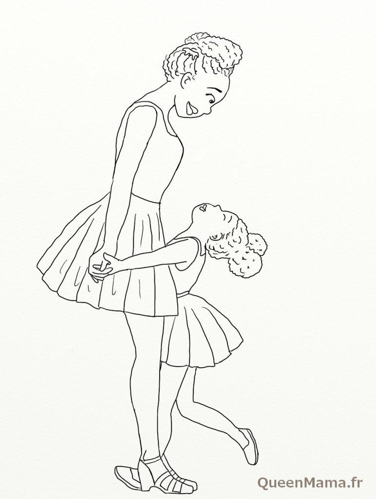 coloriage blog maman bonheur