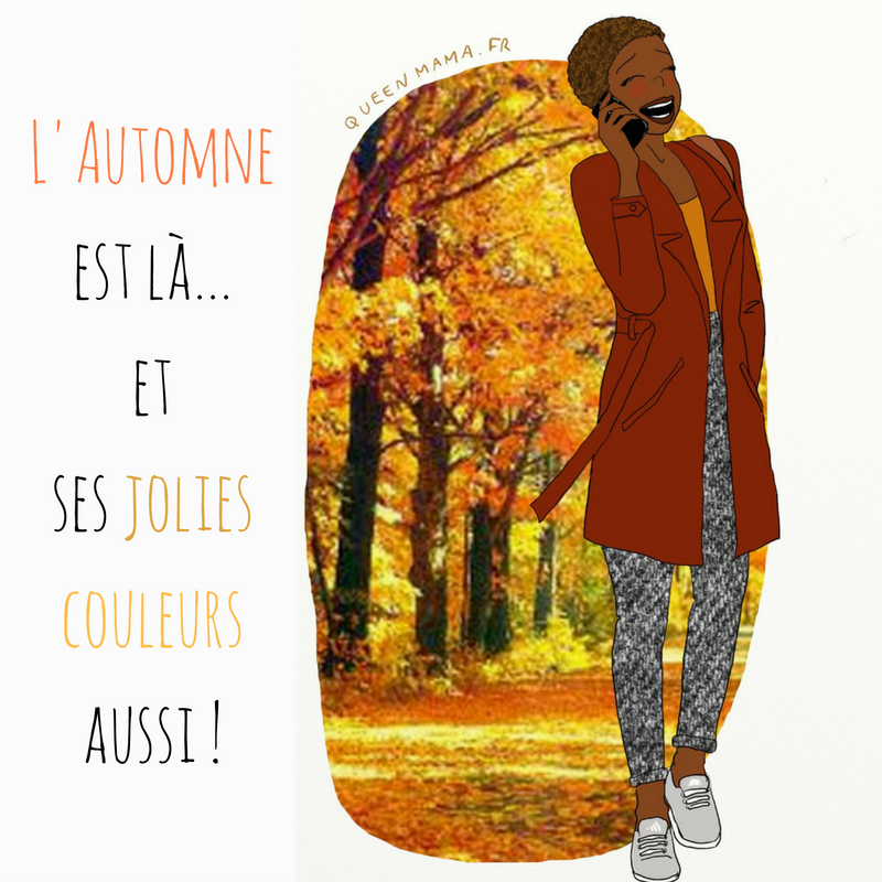 illustration automne blog BD maman
