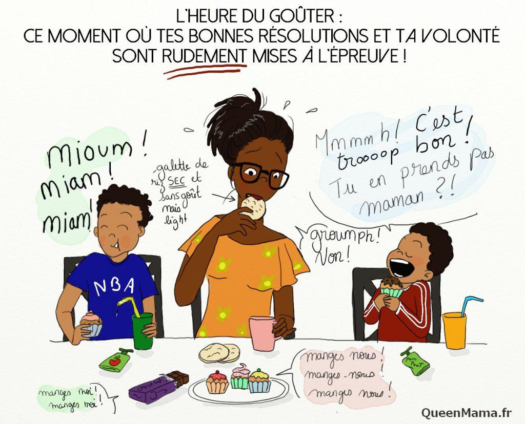 Blog BD humour maman parent illustration