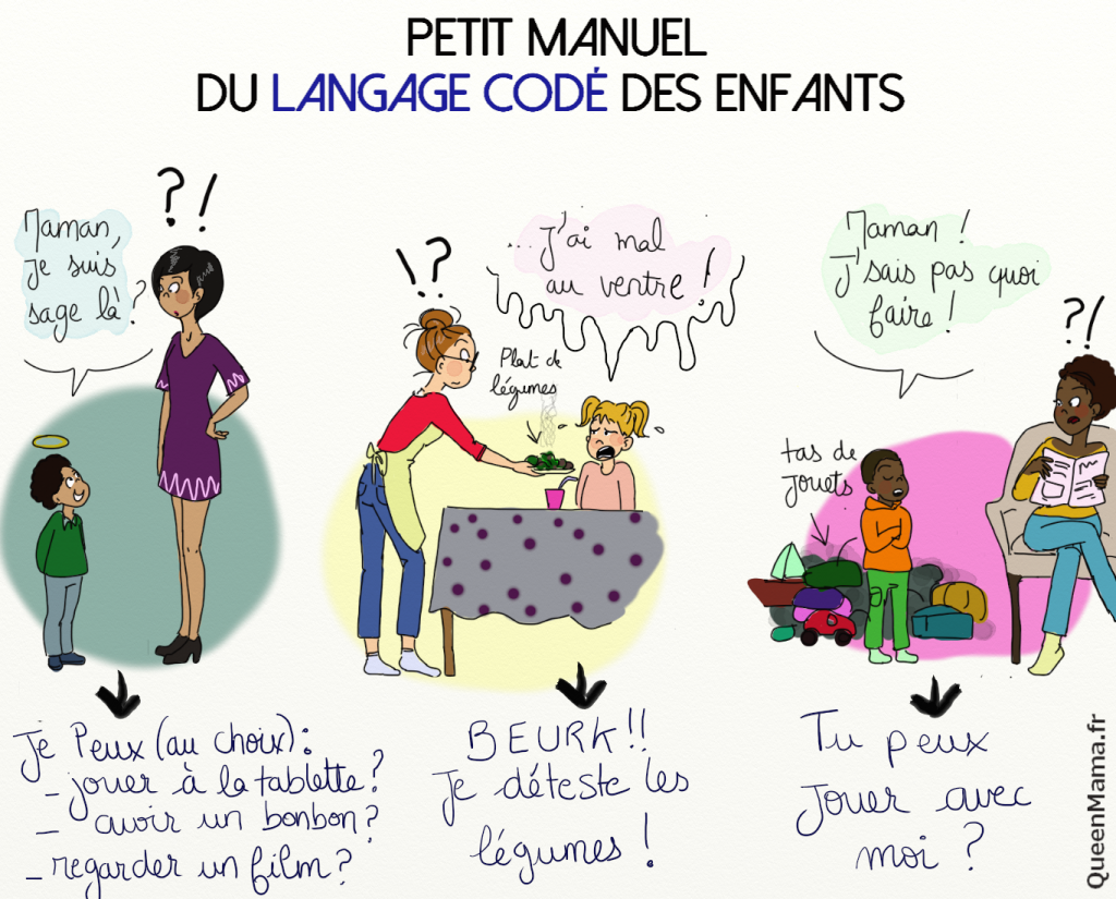 blog BD maman humour parent rouen