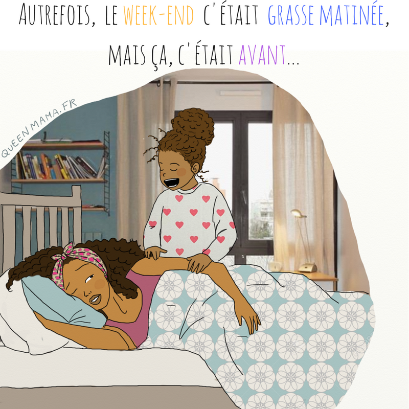 illustration maman parent citation