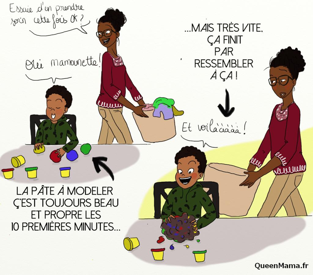 blog BD illustration maman parent