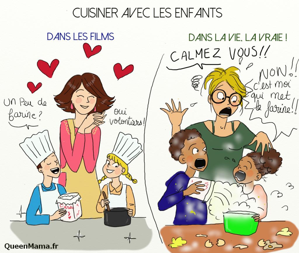 Queenmamale plaisir de cuisiner avec ses enfants queenmama - Cuisiner les coulemelles ...