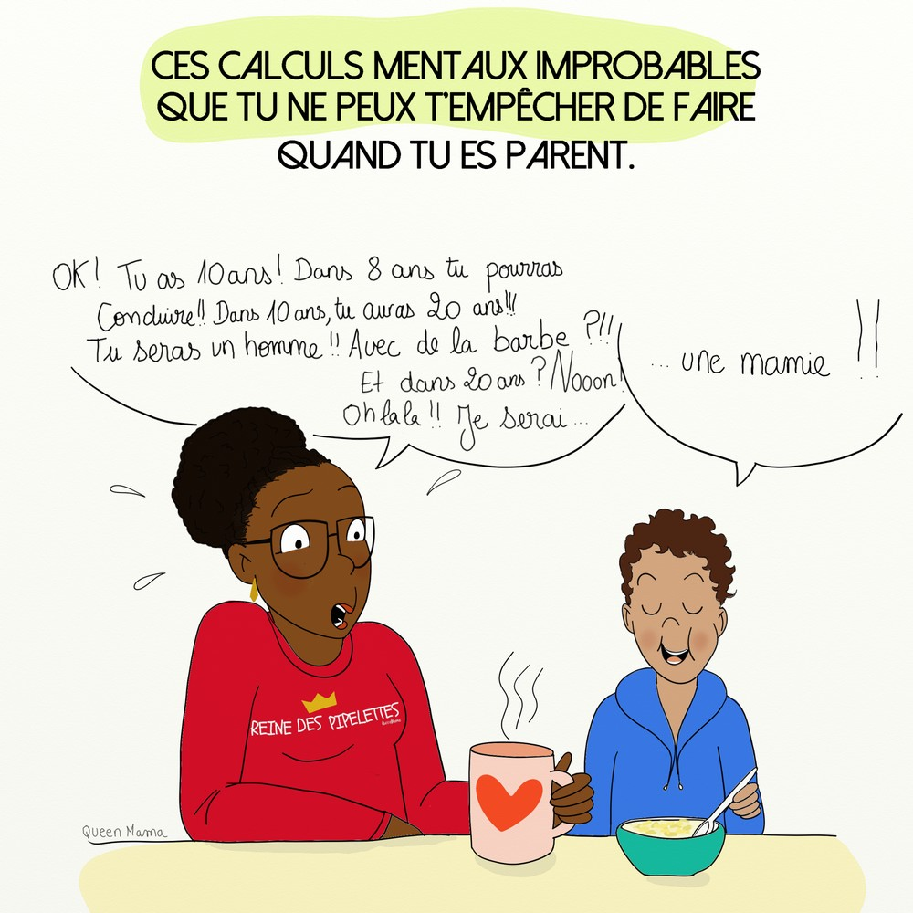 Queenmamaquand les parents se projettent dans le futur for Aventures de maison