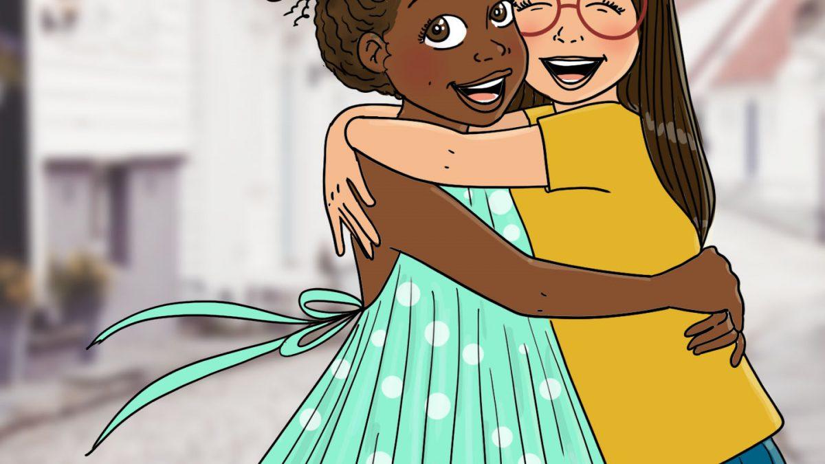 illustratrice, enfant, tolérance, ant-racisme