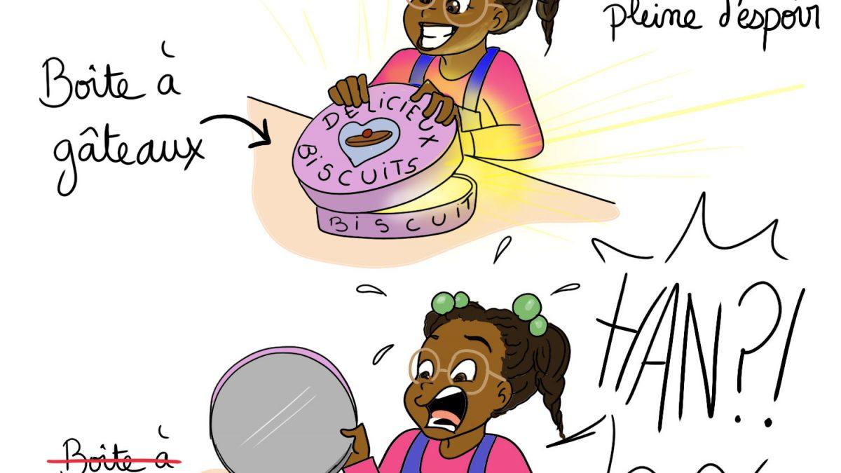 Recycler les boîtes à gâteaux